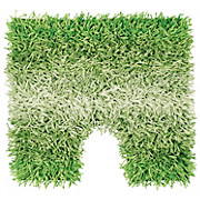 WC-vorleger Holland - Grün, KONVENTIONELL, Textil (45/50cm) - OMBRA
