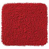 WC Vorleger Lilli, ohne Schnitt - Rot, KONVENTIONELL, Textil (45/50cm) - OMBRA