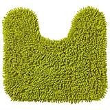 WC Vorleger Lilly, mit Schnitt - Grün, KONVENTIONELL, Textil (45/50cm) - OMBRA