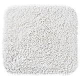 WC Vorleger Lilly, ohne Schnitt - Weiß, KONVENTIONELL, Textil (45/50cm) - OMBRA