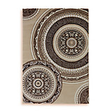 Webteppich Danilo,120x170cm - Beige, Textil (120/170cm) - OMBRA