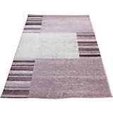 Webteppich Florence - Lila/Rosa, KONVENTIONELL, Textil (160/230cm) - OMBRA