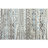 Webteppich Niels 120x170 cm - Blau, KONVENTIONELL, Textil (120/170cm) - JAMES WOOD