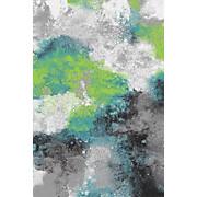 Webteppich Paint - Multicolor, KONVENTIONELL, Textil (120/170cm) - OMBRA