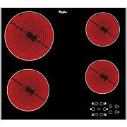 Whirlpool Glaskeramik-Kochfeld Akt 8090 Lx - Schwarz, MODERN, Glas (58/51cm) - WHIRLPOOL