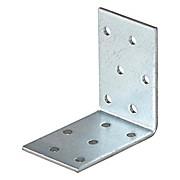 Winkelverbinder B/l: ca. 4/6 cm - Alufarben, KONVENTIONELL, Metall (4/6cm)