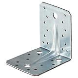 Winkelverbinder Stahl - Alufarben, KONVENTIONELL, Metall (9/10,5cm)