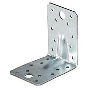 Winkelverbinder Stahl - Alufarben, KONVENTIONELL, Metall (6,5/9cm)