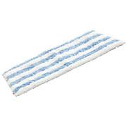 Wischbezug Active Max - Blau/Weiß, KONVENTIONELL, Textil (17.5/26/1.8cm) - VILEDA