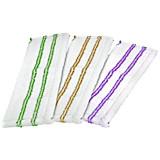 Wischbezug Basic - Lila/Limette, KONVENTIONELL, Textil (42,5/14/1cm) - HOMEZONE