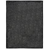 Wohndecke Alexia - Schwarz, KONVENTIONELL, Textil (150/200cm) - OMBRA