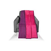 Wohndecke Carmina - Pink/Violett, KONVENTIONELL, Textil (150/200cm) - LUCA BESSONI