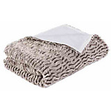 Wohndecke Carrara - Champagner, KONVENTIONELL, Textil (140/200cm) - JAMES WOOD