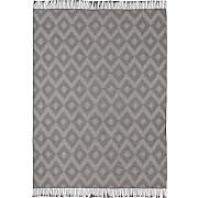 Wohndecke Daline - Grau, MODERN, Textil (130/170cm) - LUCA BESSONI