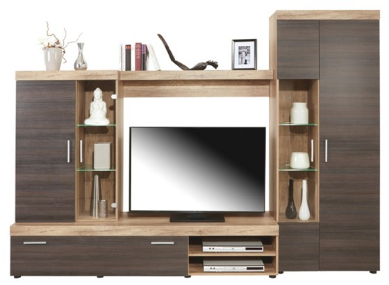 wohnwand montana new online kaufen m belix. Black Bedroom Furniture Sets. Home Design Ideas