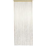 ZSINÓRFÜGGÖNY MARIETTA - natúr színek, konvencionális, textil (90/245cm) - OMBRA